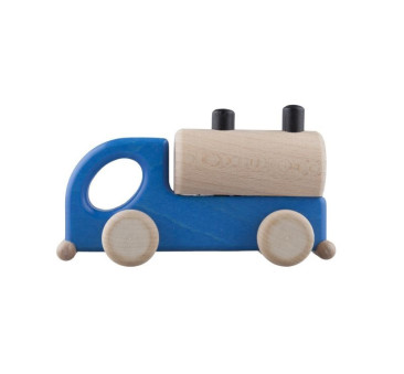 Drewniana cysterna - niebieska - Lupo Toys
