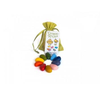 Crayon Rocks - Wiosna - kredki stożkowe kamyki - 10 sztuk w woreczku