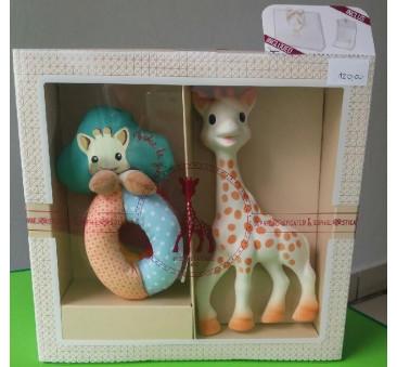 Żyrafka Sophie de Vulli - mały zestaw narodzinowy 2