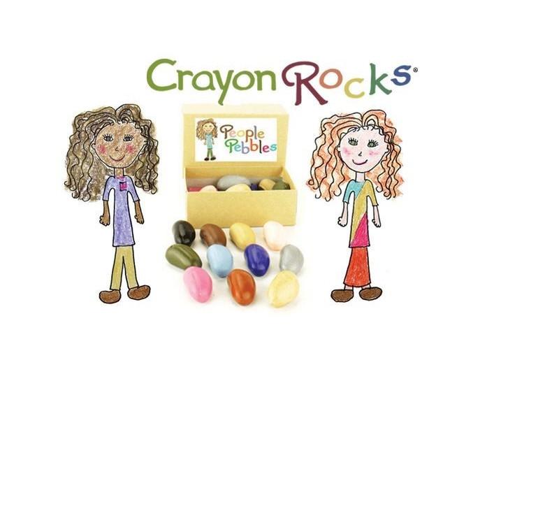 CRAYON ROCKS KREDKI KAMYKI - PEOPLE - 12 kredek