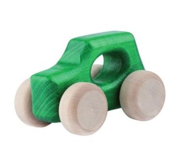 Drewniany samochodzik - Mini UK - Lupo Toys - zielony