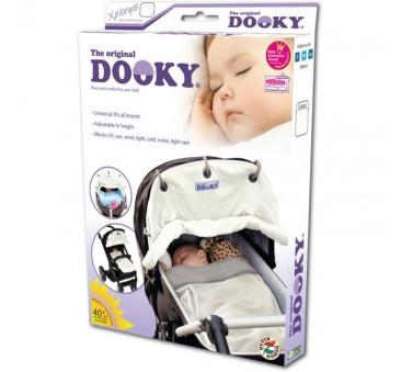Dooky - Cream - osłonka do wózka i fotelika - kolor śmietankowy