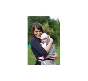 BABY INSERT TULA - wkładka dla niemowląt do nosidełka TULA - kolor szary
