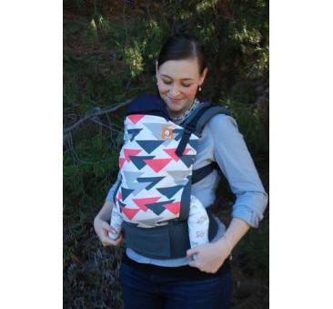 BABY TULA - nosidełko standardowe - wzór Prism