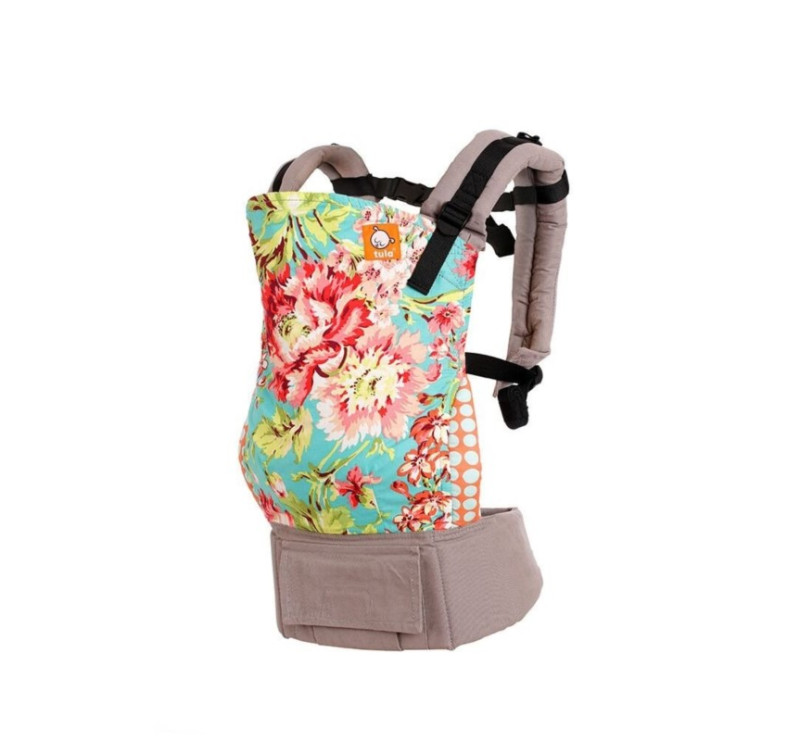 TODDLER TULA - nosidełko - wzór Bliss Bouquet