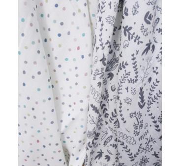 Muślinowa chusta/otulacz ? Botanic White