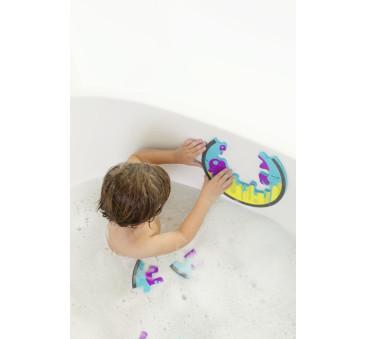 Piankowe puzzle do kąpieli Ośmiornica - BOON