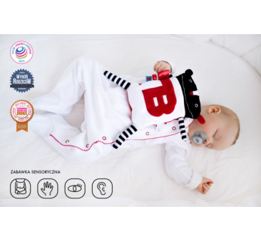 Super zabawka MR B etui - przytulanka termofor - LullaLove