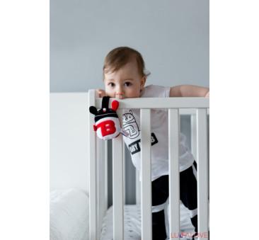 Baby MR B rattle - grzechotka - LullaLove