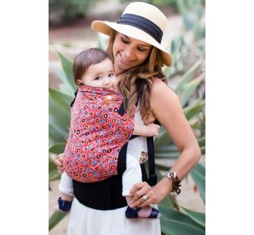 BABY TULA - nosidełko standardowe - wzór Poppy Sky