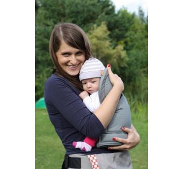 BABY INSERT TULA - wkładka dla niemowląt do nosidełka TULA - kolor czarny