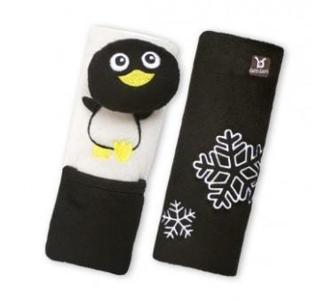 Benbat - zestaw podróżny Pingwin 1-4 lata - poduszka rogal + osłonki na pasy