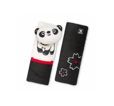 Benbat - zestaw podróżny Panda 0-12 m - poduszka rogal + osłonki na pasy