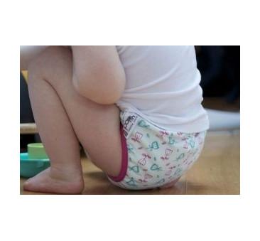 CLOSE PARENT - majtki treningowe szybkoschnącę - tulipan - r. L