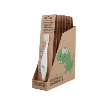 Dino - Bio szczoteczka do zębów - JACK N'JILL