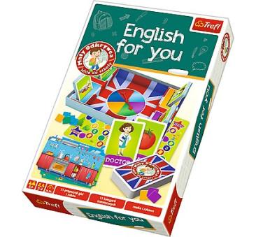 ENGLISH FOR YOU TREFL MAŁY ODKRYWCA
