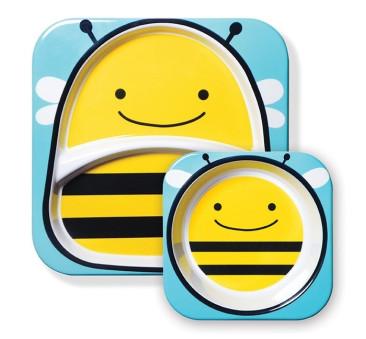 Talerz Zoo Pszczoła - Skip Hop
