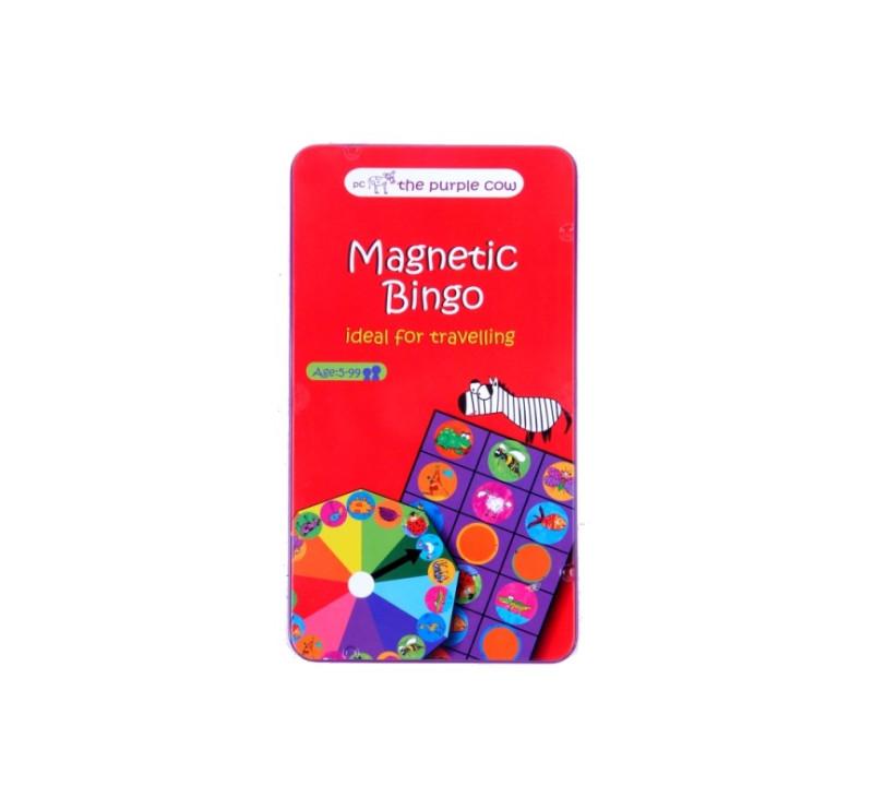 Podróżna gra magnetyczna The Purple Cow - Bingo