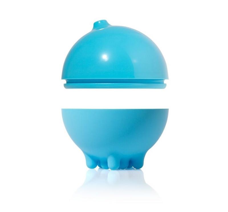 Piłka do kąpieli plui - kolor niebieski